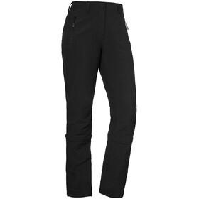 Schöffel Engadin Pantalon convertible avec fermeture éclair Femme, black